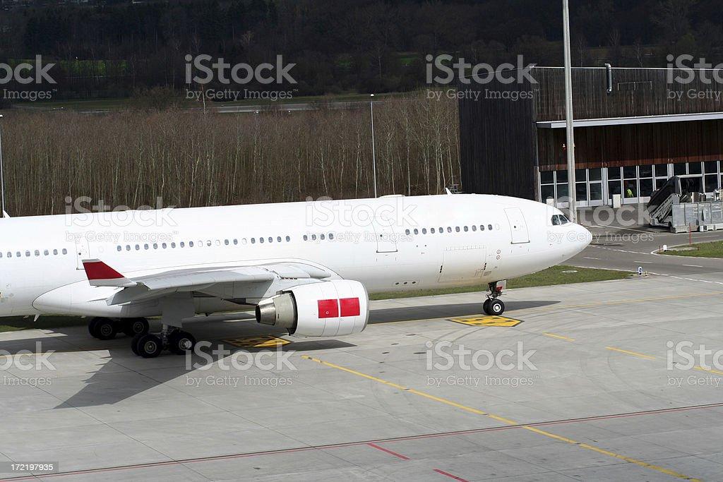 movimiento en aereopuerto stock photo