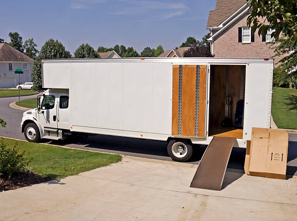 Image result for empty moving van pictures