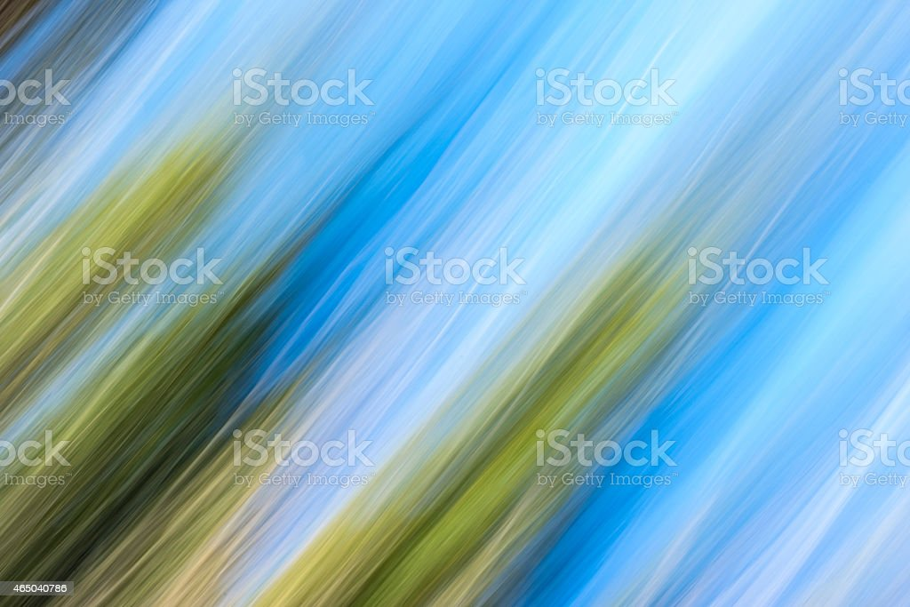 Moving Colors in Nature stock photo