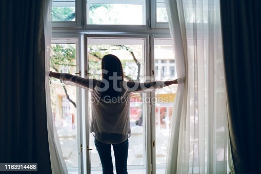 949450544 istock photo Moving curtains 1163914466
