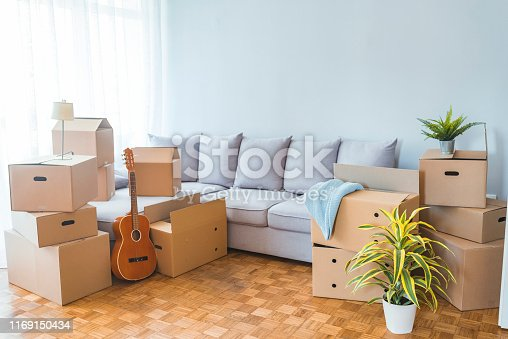 istock Moving day concept 1169150434