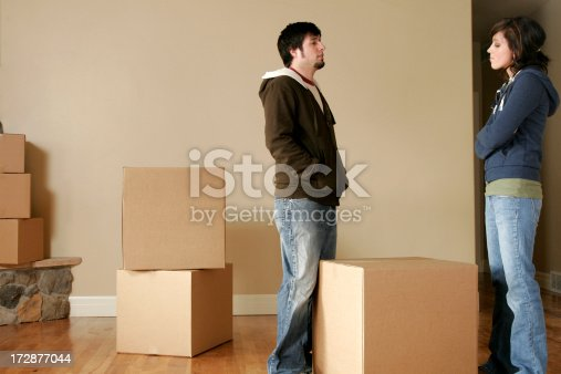 istock Moving Day - The Argument 172877044