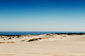 Moving dunes in Slowinski National Park, Poland
