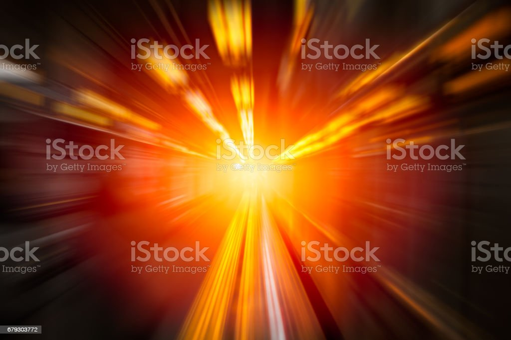 Moving Fastest High speed concept, Acceleration super fast speedy drive motion blur of lightning abstract for background design. royalty-free stock photo