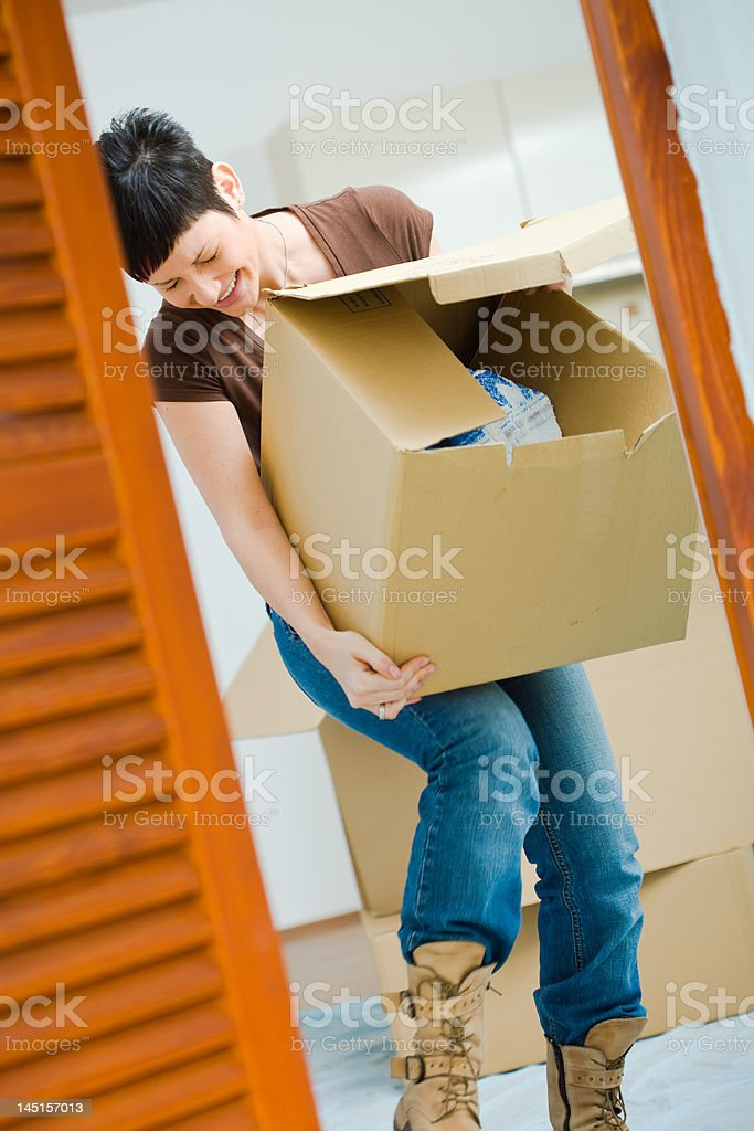 Moving Home royalty-free stock photo
