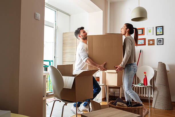 moving house - relocation stock photos and pictures