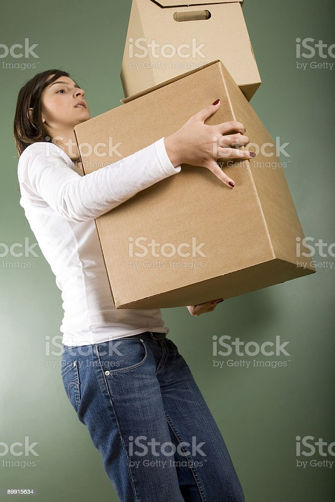 Moving House royalty free stockfoto