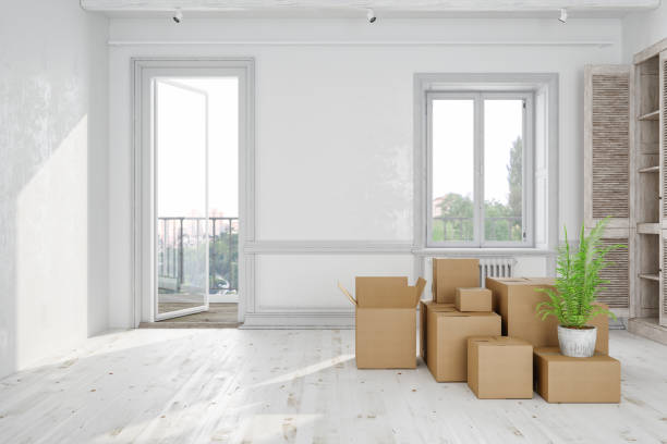 moving house - physical activity stock photos and pictures