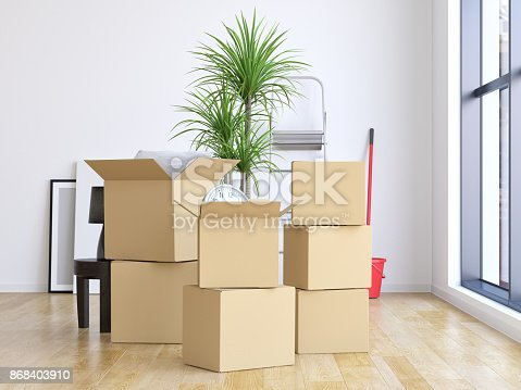 istock Moving into a new home 868403910