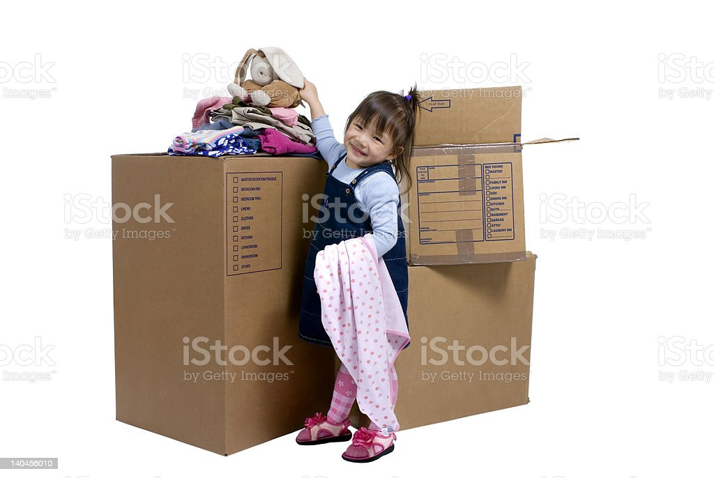 Moving royalty-free stock photo