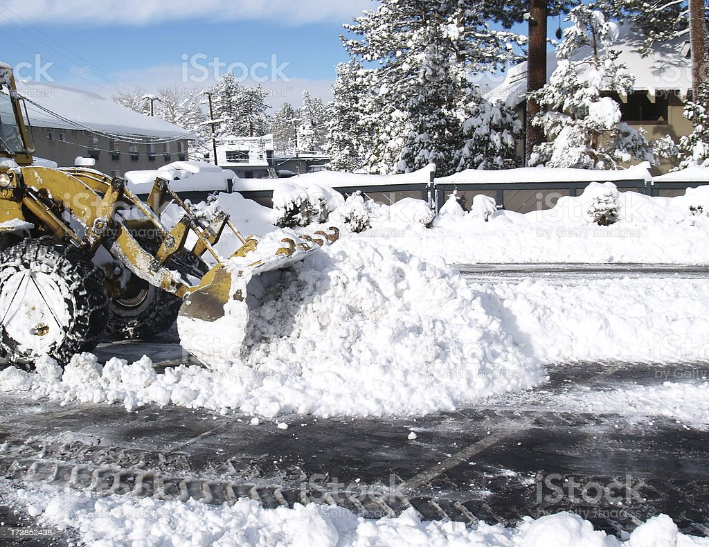 Moving Snow royalty-free stock photo