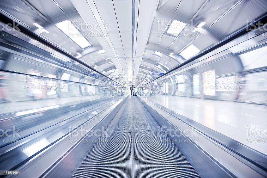 Moving Stairway royalty-free stock photo