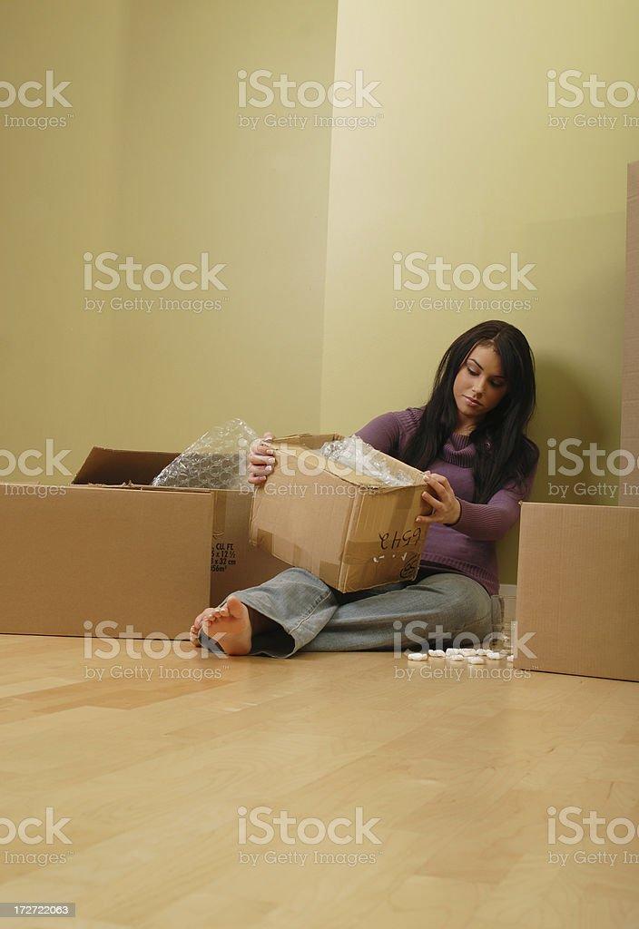 Moving sucks royalty-free stock photo