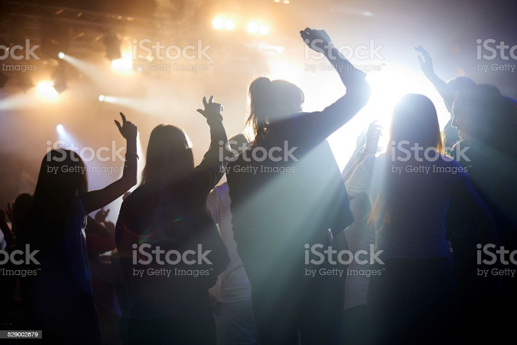Moving to the music stock photo