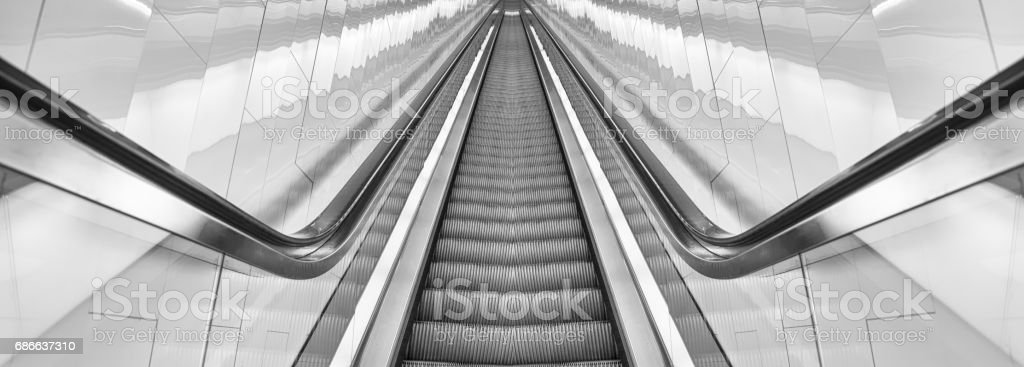 moving upwards royalty-free stock photo