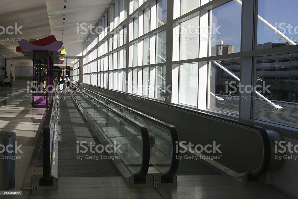 Moving Walkwalk royalty-free stock photo