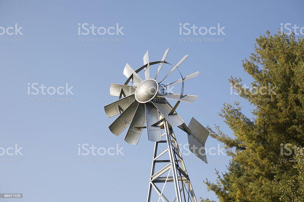 Moving Windmühle Lizenzfreies stock-foto