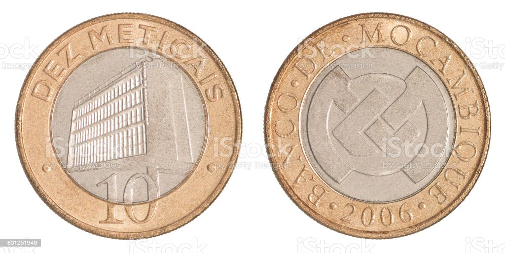 Mozambique Coin Meticals Stock Photo Istock