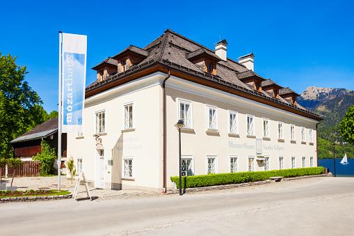 Mozart House in St. Gilgen