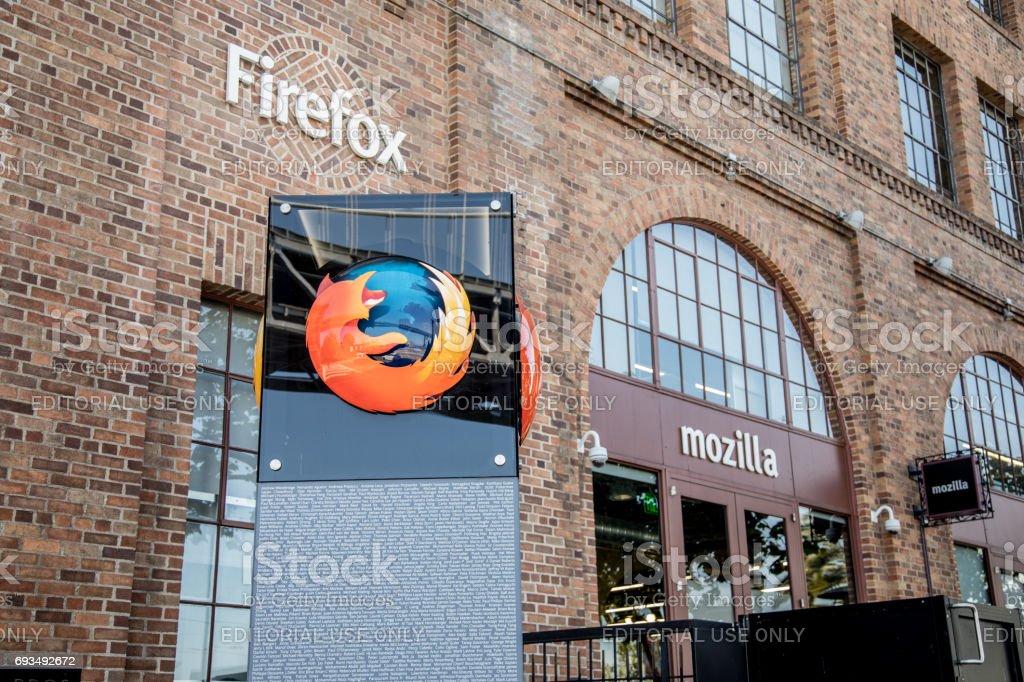 Mozilla Headquarters stock photo