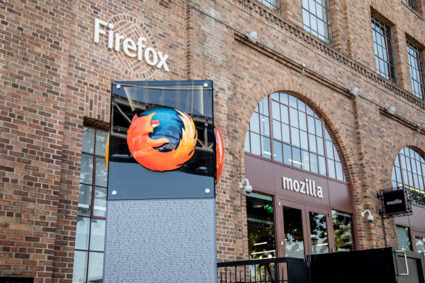 Mozilla Headquarters stock photo