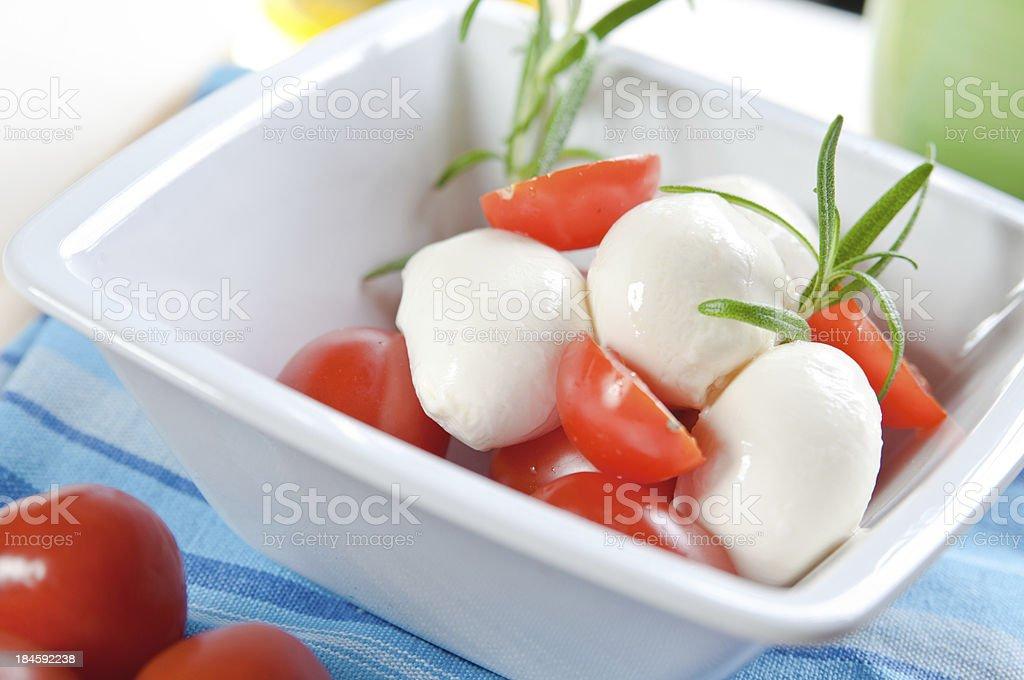Mozzarelli i pomidorów zbiór zdjęć royalty-free