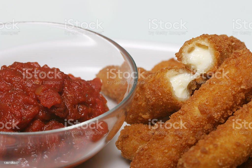 Mozzarella Cheese royalty-free stock photo