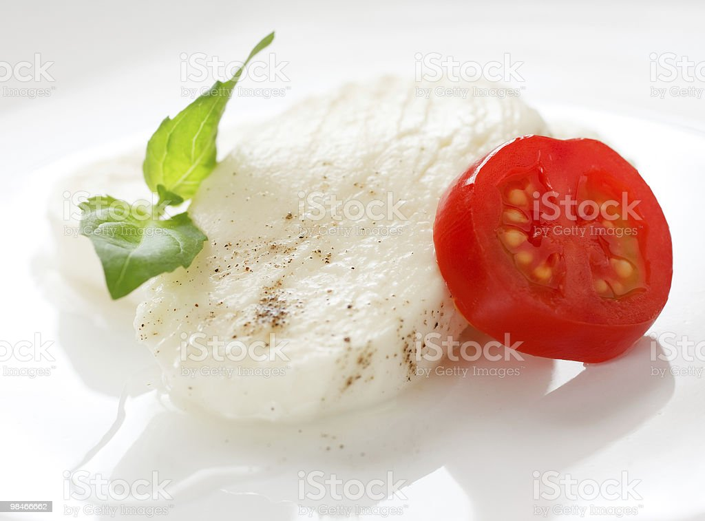 Mozzarella foto stock royalty-free