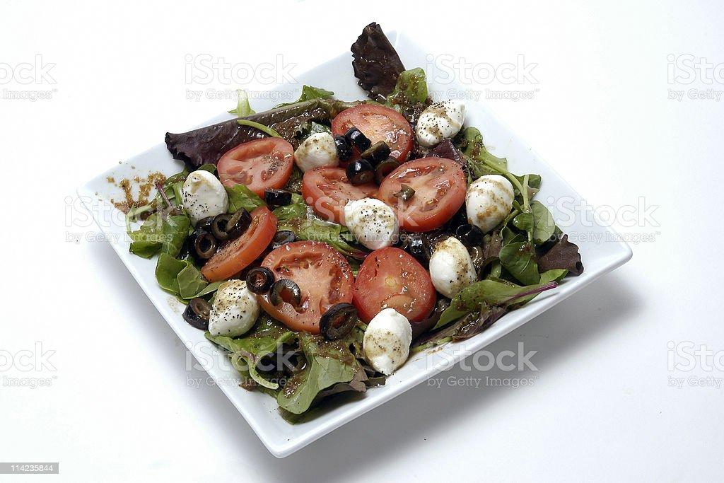 Mozzarella Salad stock photo