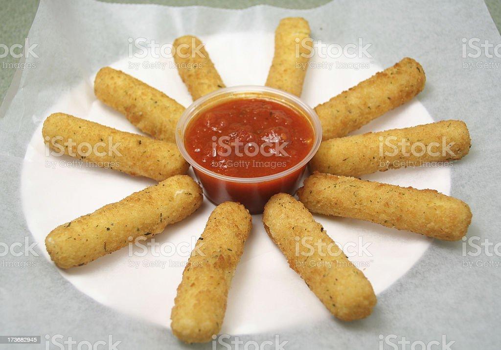 Mozzarella Sticks stock photo