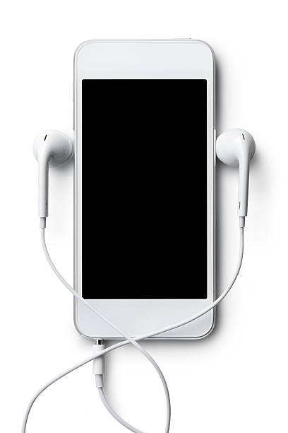 Mp3 player Mp3 player. Photo with clipping path. mp3 player stock pictures, royalty-free photos & images