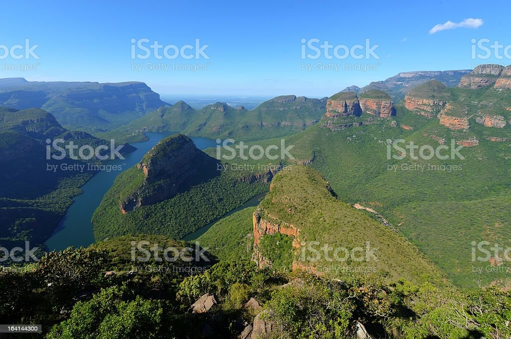 Mpumalanga, Blyde River Canyon stock photo