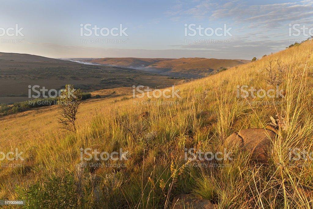 Mpumalanga Highlands Meander stock photo