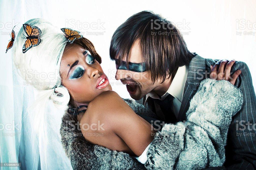 Mr & Mrs Smith royalty-free stock photo