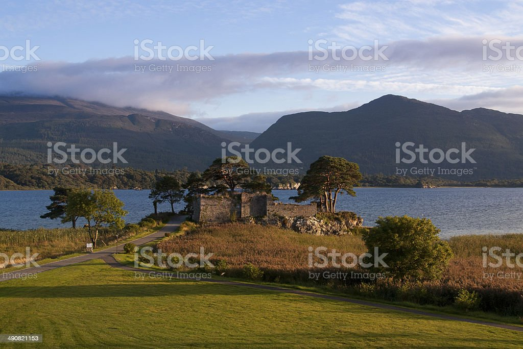 Mór Castle in Killarney stock photo