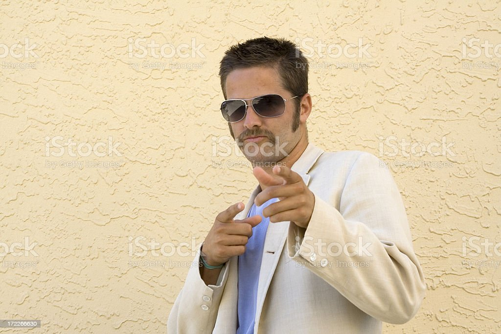 Mr. Cool stock photo