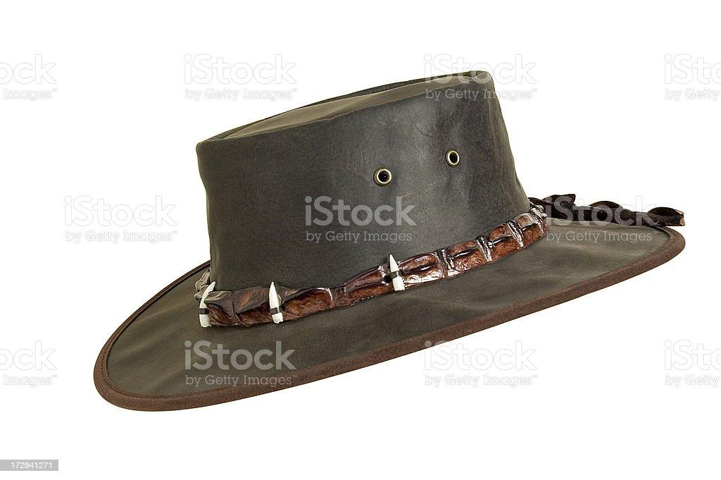 Mr. Crocodile Dundee stock photo