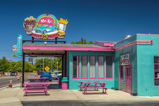 Kingman, Arizona: Mr. D'z Route 66 Diner in Kingman located on historic Route 66.