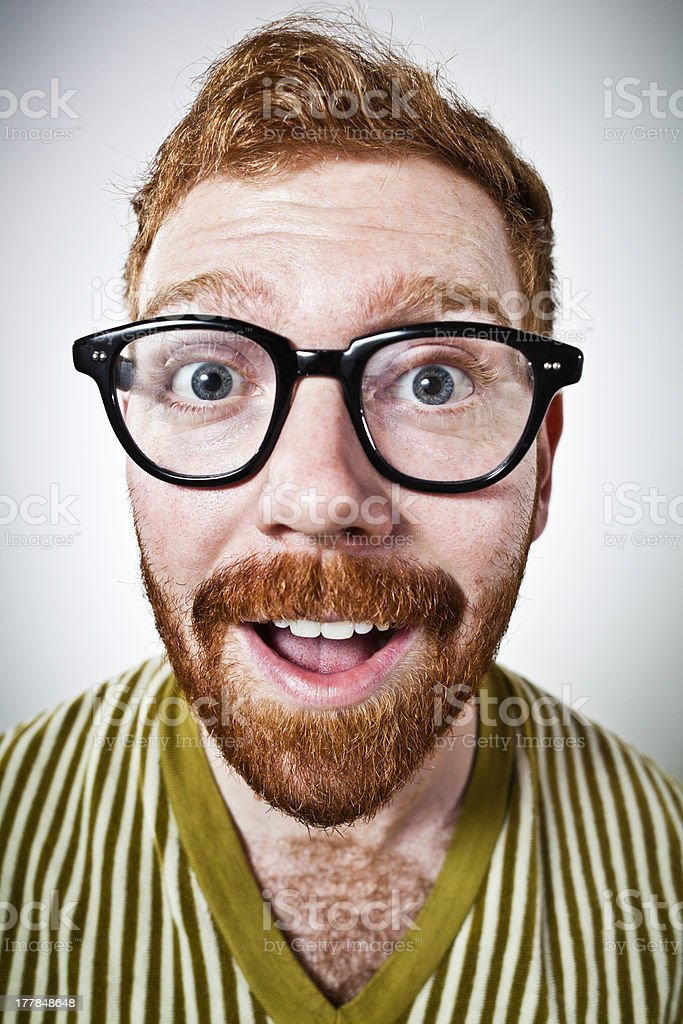 Mr. Ginger - Happy royalty-free stock photo