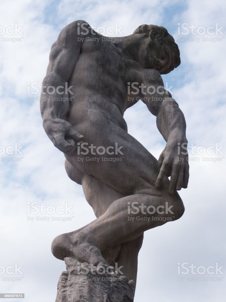 Mr. Muscles stock photo