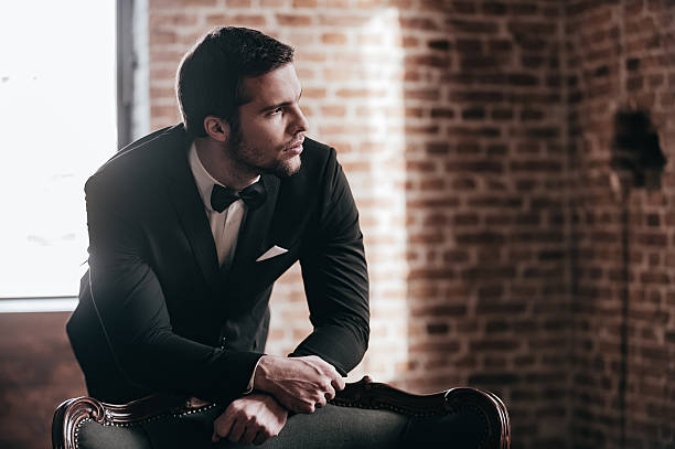 mr. perfect. - charming stock photos and pictures
