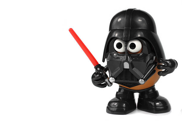 mr potato head darth tater - darth vader 個照片及圖片檔