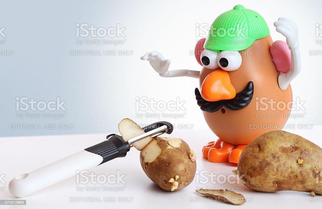 Mr. Potato Head royalty-free stock photo