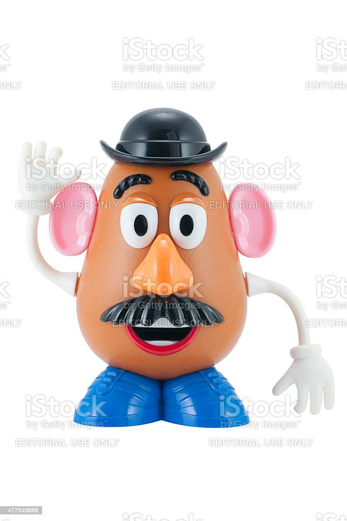 Mr Potato Head Toy Character From Toy Story Stock Photo