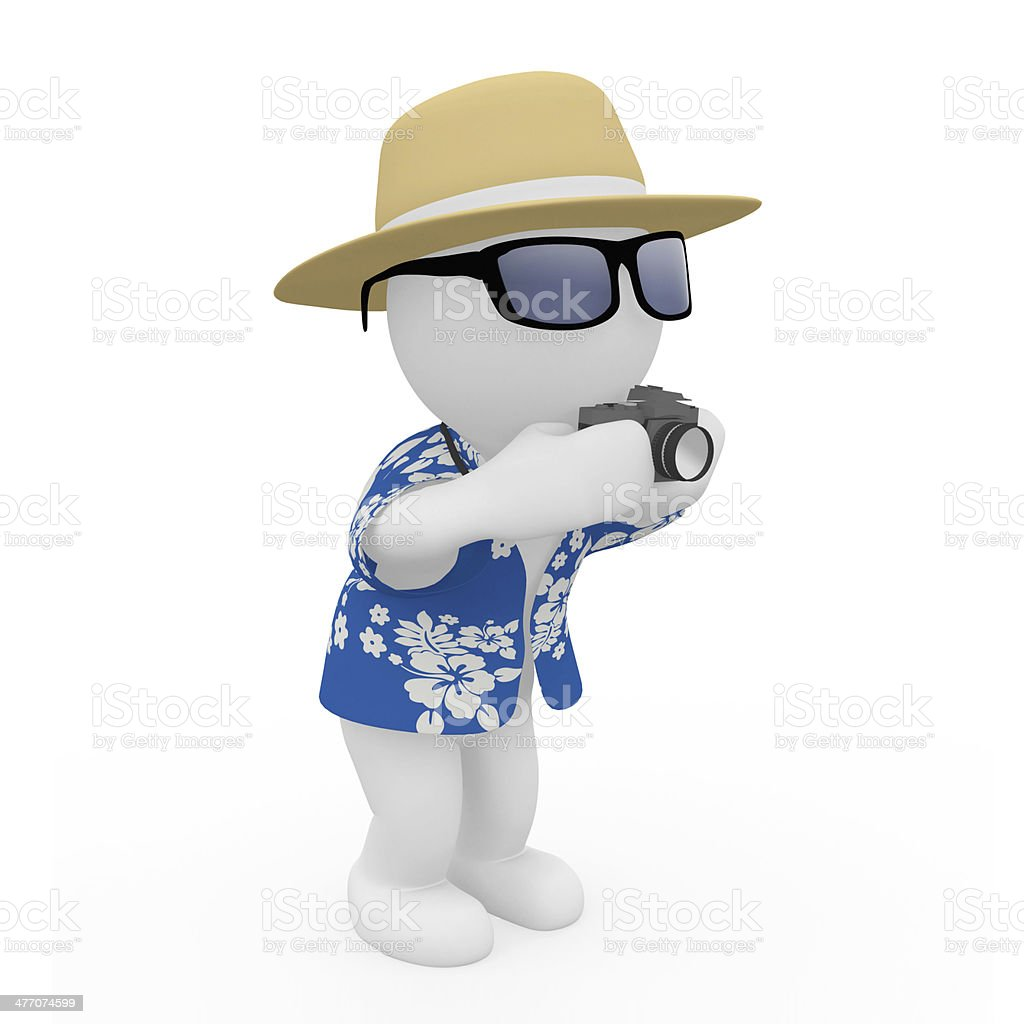 Mr. Smart Guy macht ein Foto stock photo