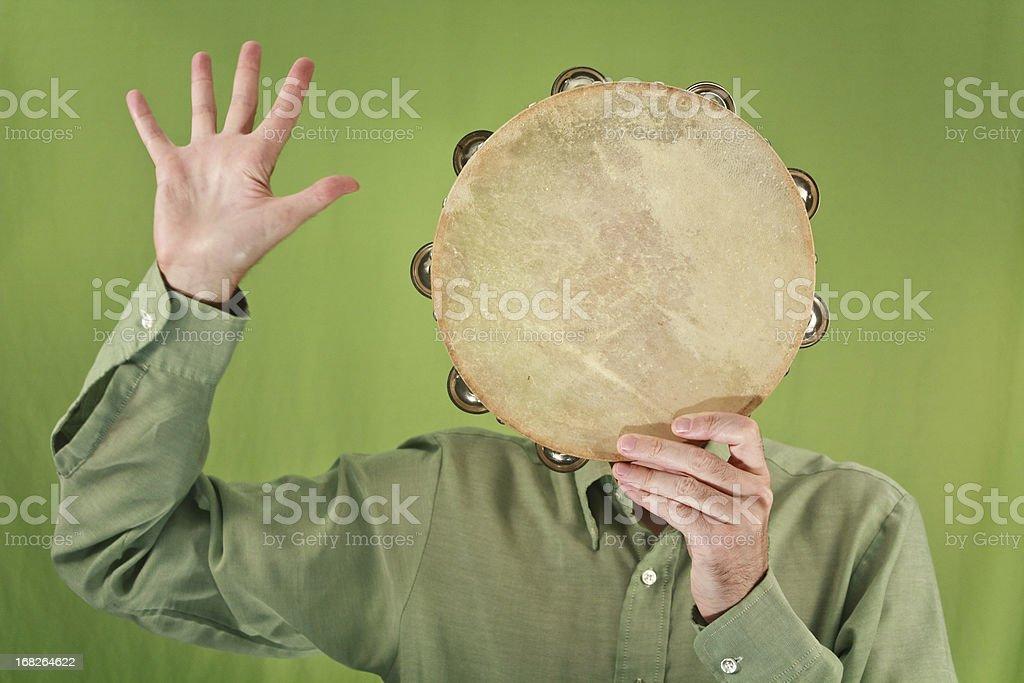 Mr. Tambourine Man stock photo