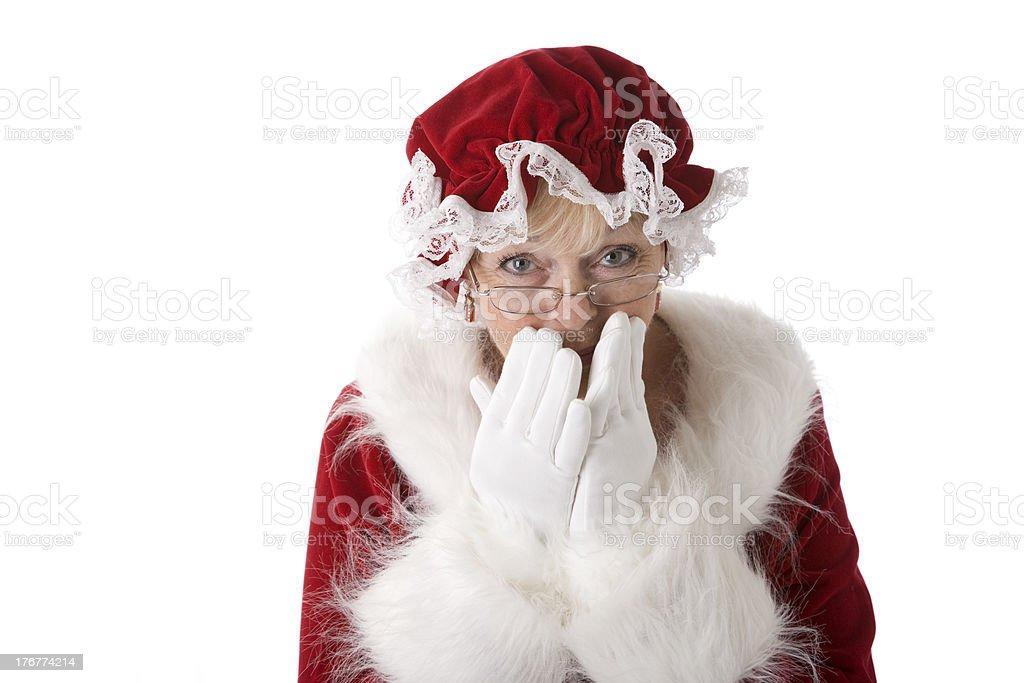 Mrs. Claus Keeps a Secret stock photo
