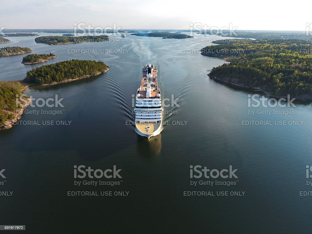 Msc Musica Cruiser Ship stock photo