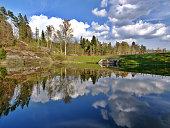 istock Mseno lake, Jablonec nad Nisou, Czech Republic 545809140