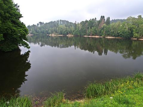 istock Mseno Lake, Jablonec nad Nisou, Czech Republic 610435582